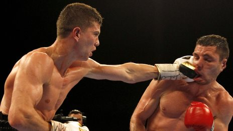 Luke Campbell (left)