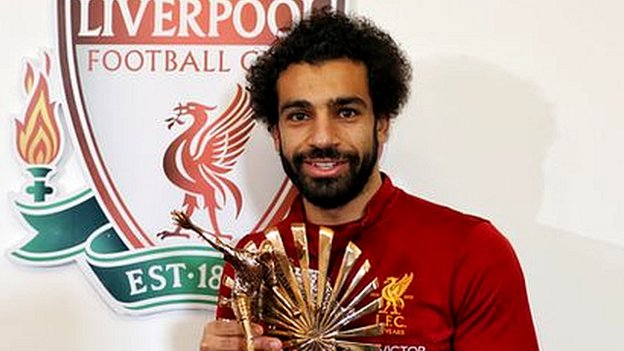 Liverpool's Salah wins BBC African Footballer of the Year award
