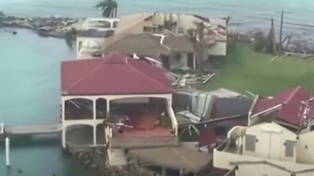 Hurricane Irma: British Virgin Islands devastation