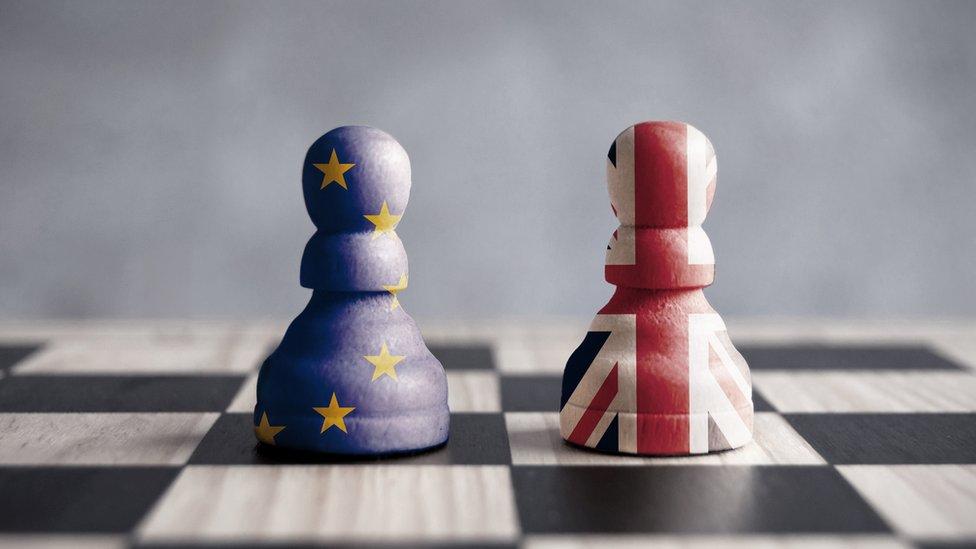 La visión británica parece chocar con la de la Unión Europea.