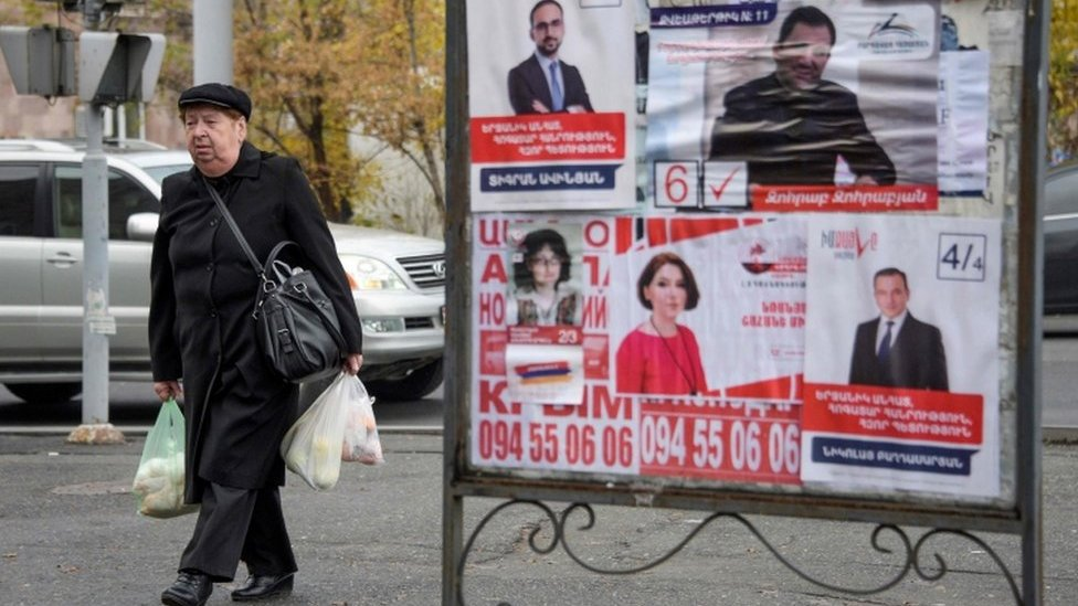 Armenia leader Nikol Pashinyan holds test snap election