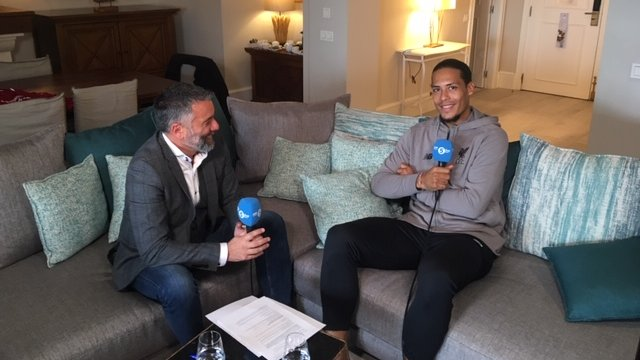 Virgil van Dijk wants to be 'a legend of Liverpool' - in-depth wide-ranging BBC interview