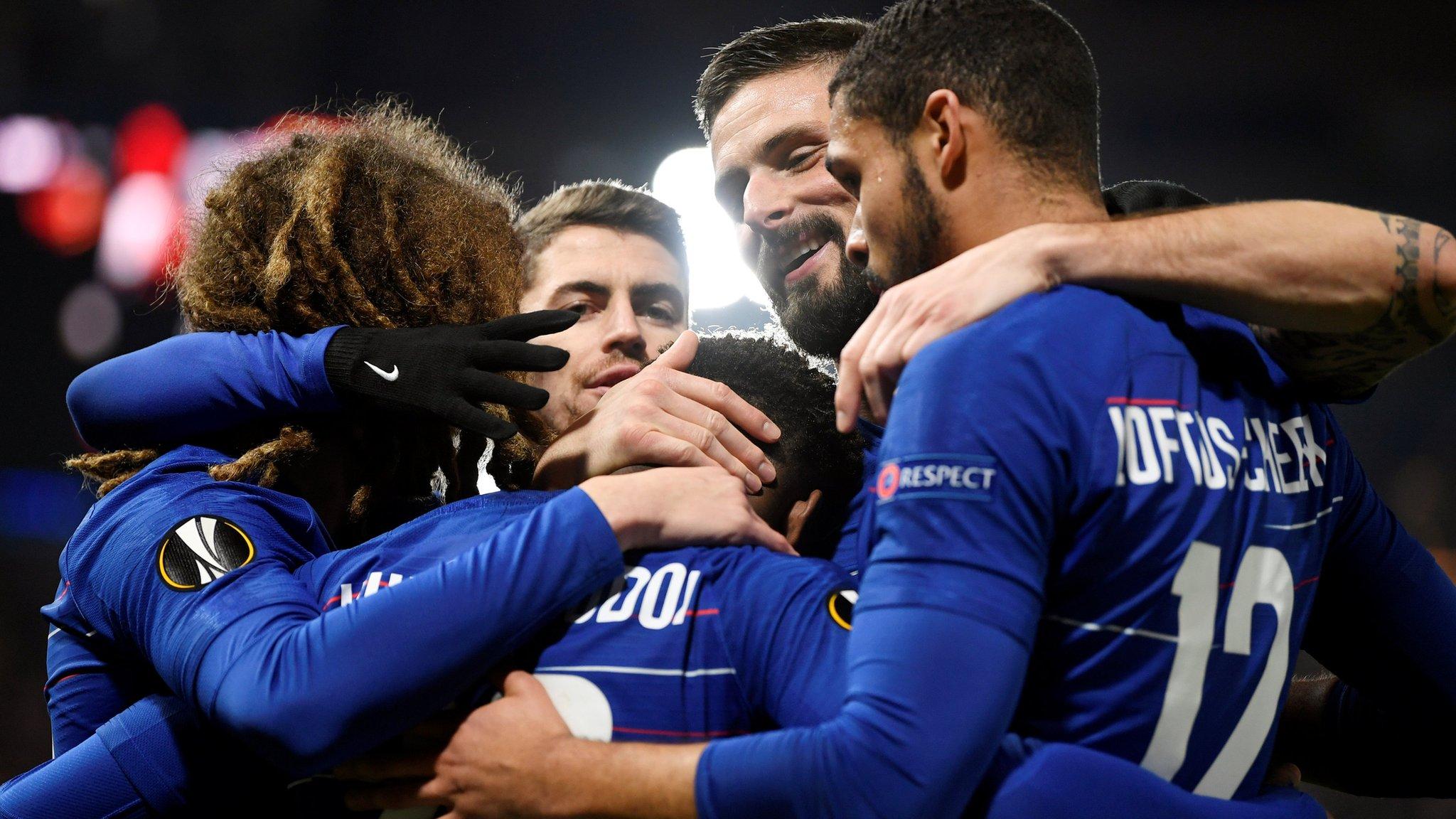 Chelsea 3-0 Malmo (5-1): Callum Hudson-Odoi scores as Blues reach last 16