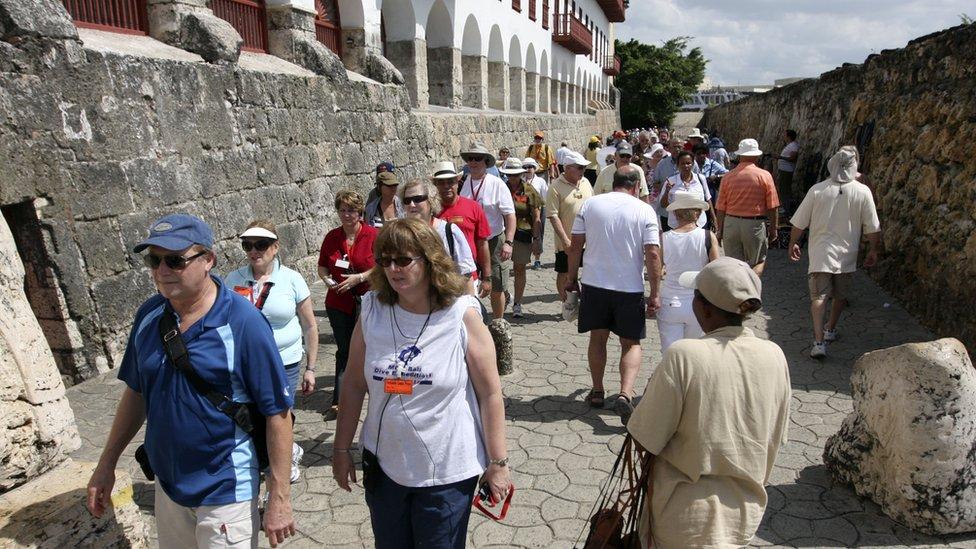 El turismo se resintió por la huelga.