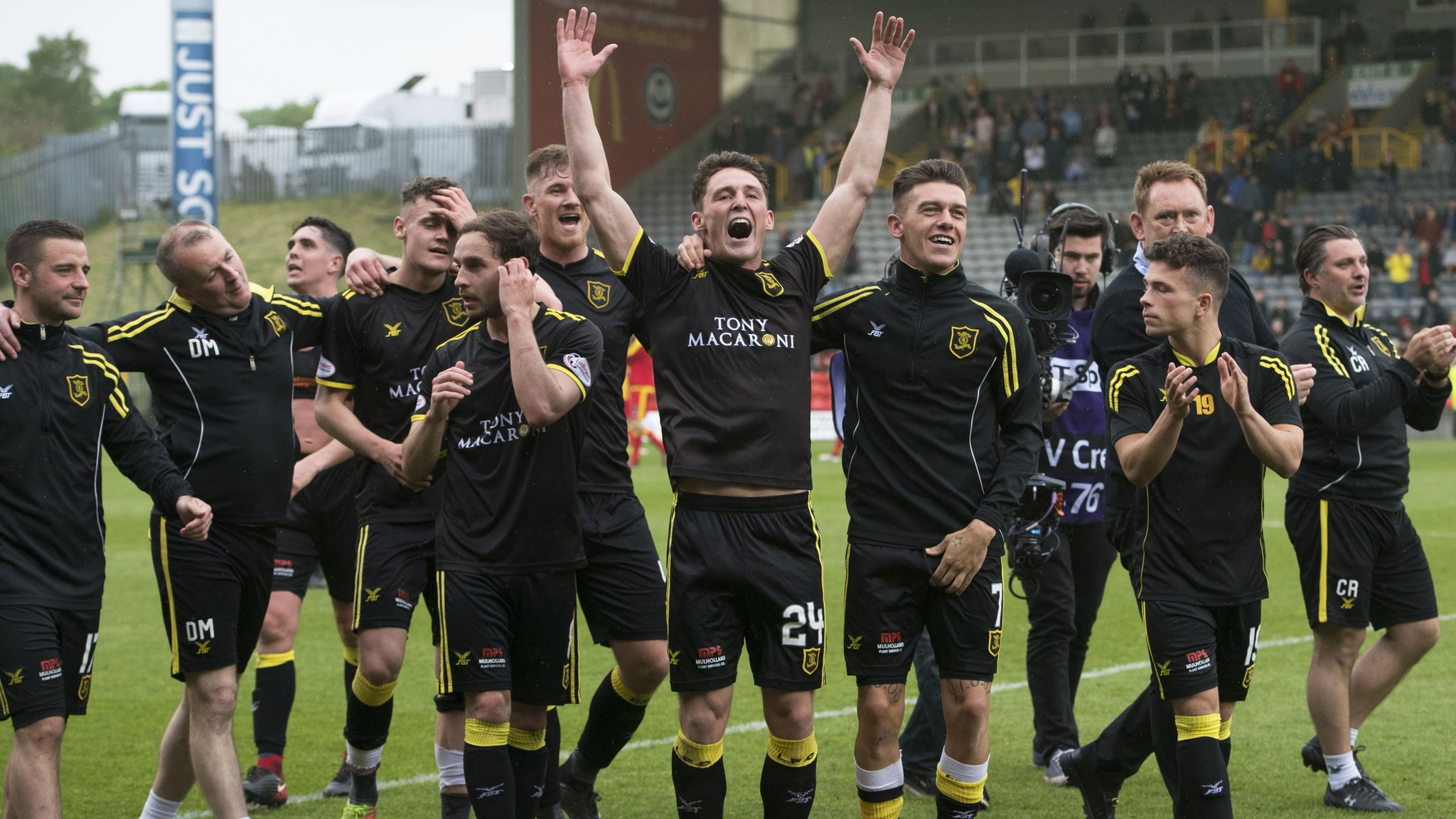 Partick Thistle 0-1 Livingston (agg 1-3)
