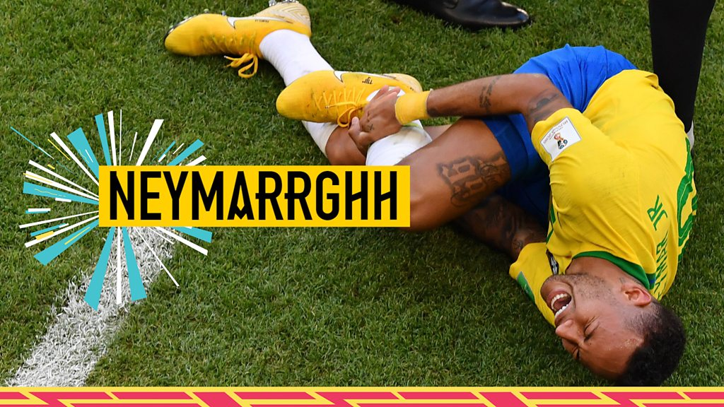 World Cup 2018: Neymar's theatrics spark ridicule online