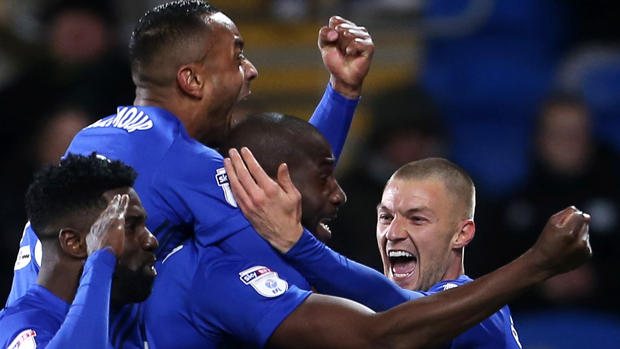 Cardiff beat Hull to keep pressure on Wolves