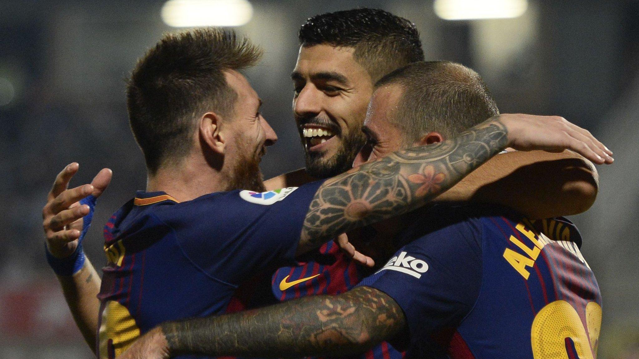 Barcelona beat Girona to extend winning start