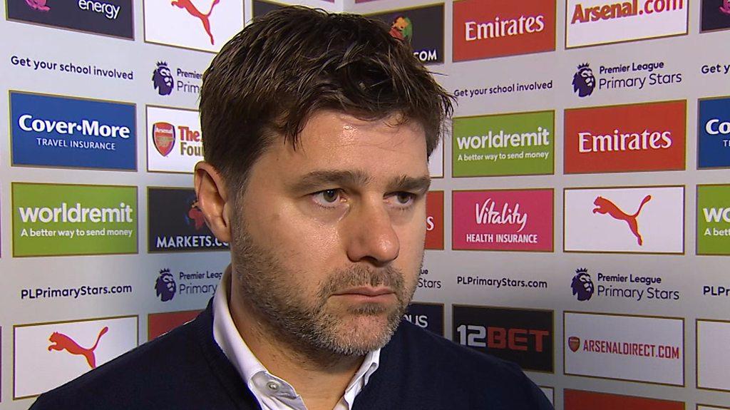 Arsenal 2-0 Tottenham: Mauricio Pochettino says Mustafi goal was offside