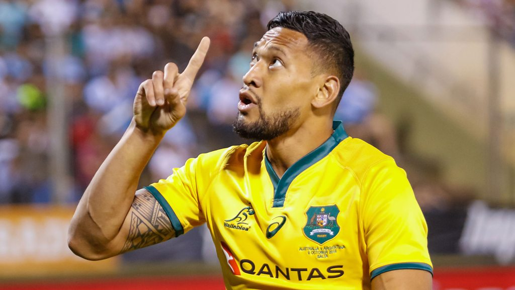 Israel Folau: Tom Bosworth & Elinor Barker on controversial Instagram posts