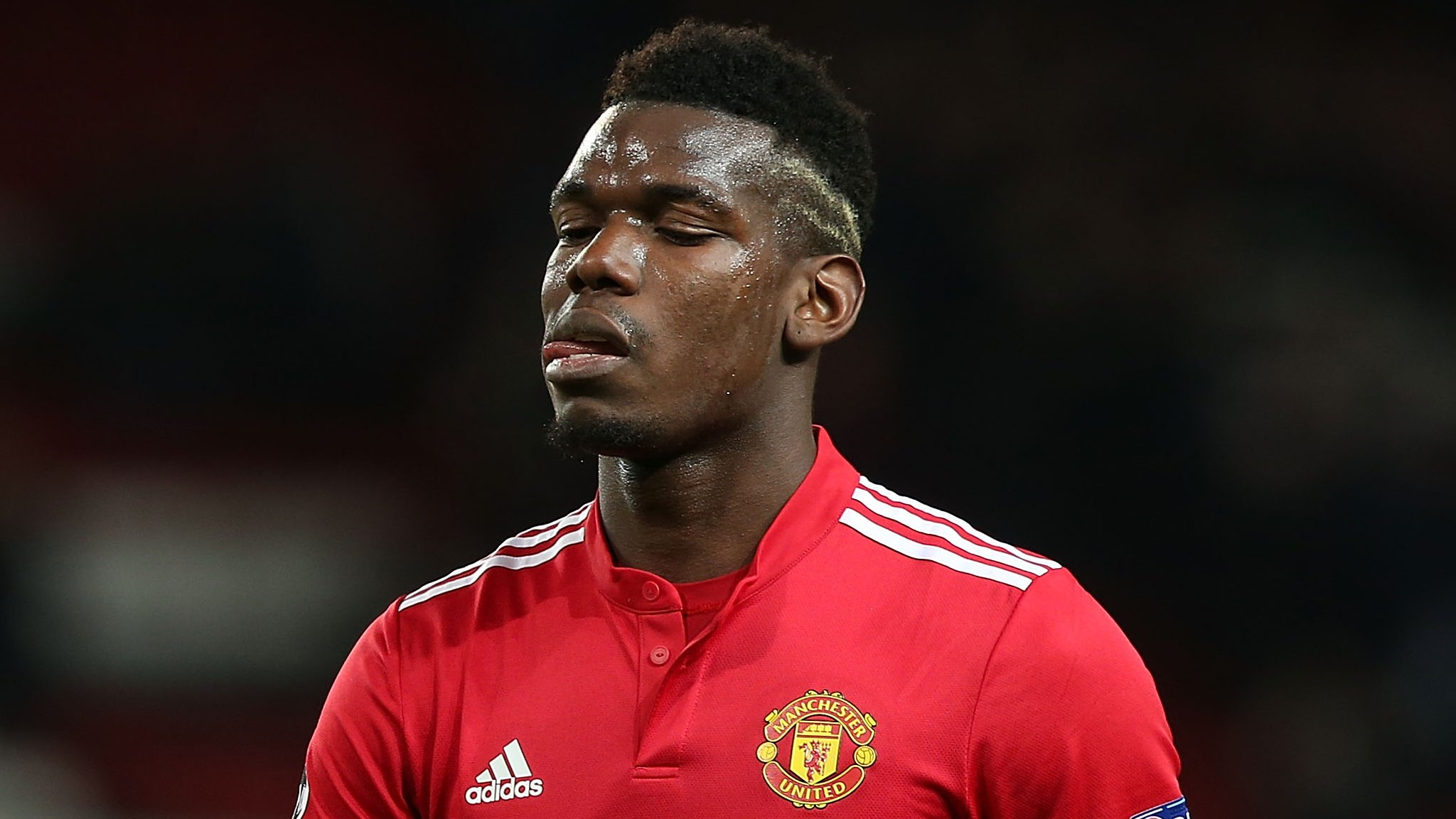 Paul Pogba: Manchester United midfielder 'can't be happy', says France coach Didier Deschamps