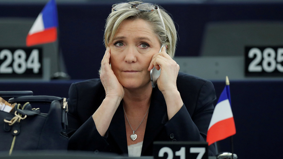 Le Pen's National Front 'took 5m euros from EU'