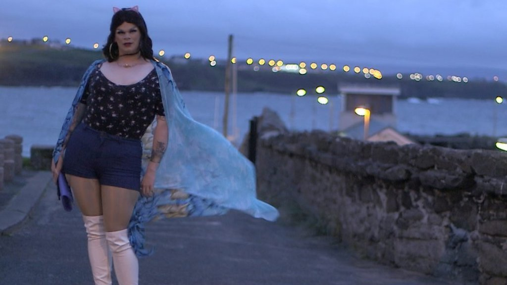 The small-town drag queen