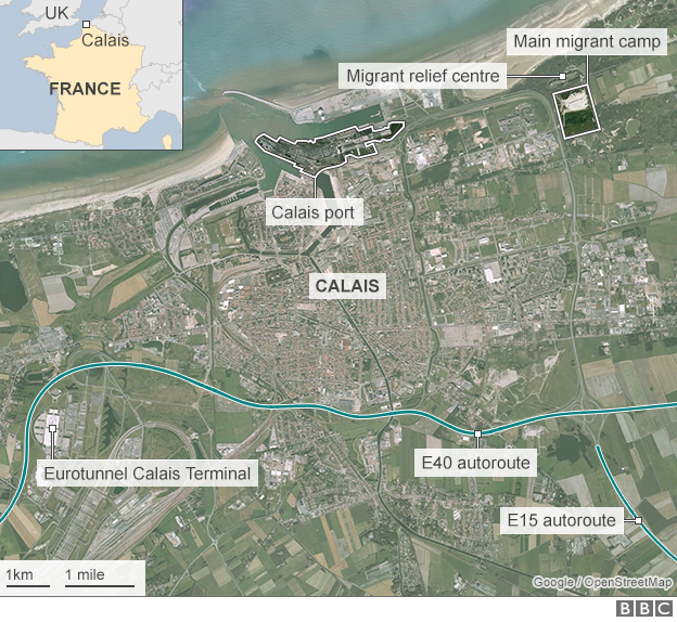BBC News  Calais Migrants UK To Create Lorry 39secure Zone39