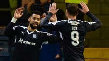 Dundee forwards Kane Hemmings and Rory Loy