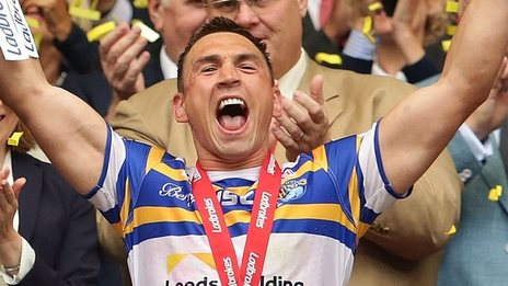 Leeds recorded the biggest winning margin in a Challenge Cup final by beating Hull KR 50-0
