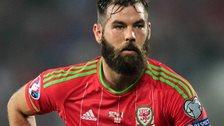 Wales midfielder Joe Ledley