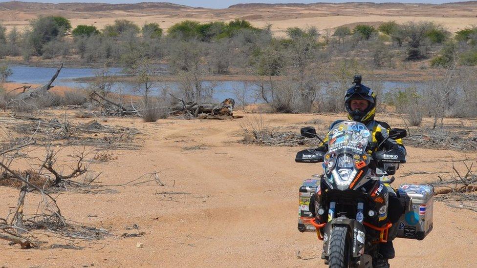Як українка проїхала на мотоциклі всю Африку