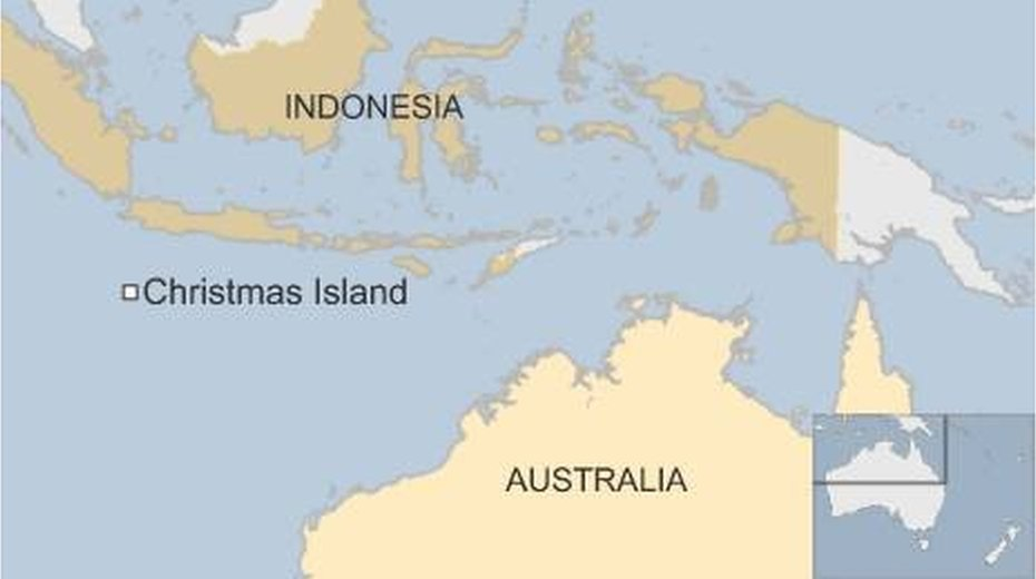 Christmas Island Australia  City new picture : Australia migrants: 'Disturbance' at Christmas Island detention centre