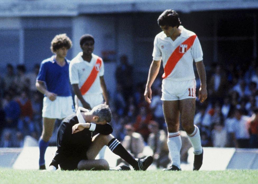Selección peruana en España 82