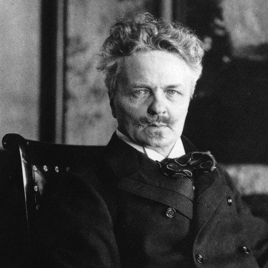 El novelista sueco August Strindberg se creía científico.