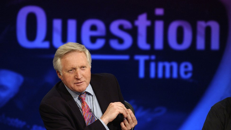 David Dimbleby's 25 years on Question Time