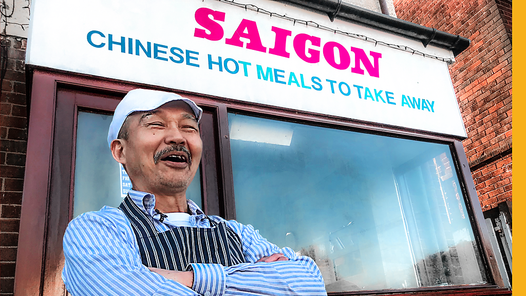Meet Teesside's takeaway owner 'Saigon Sam'