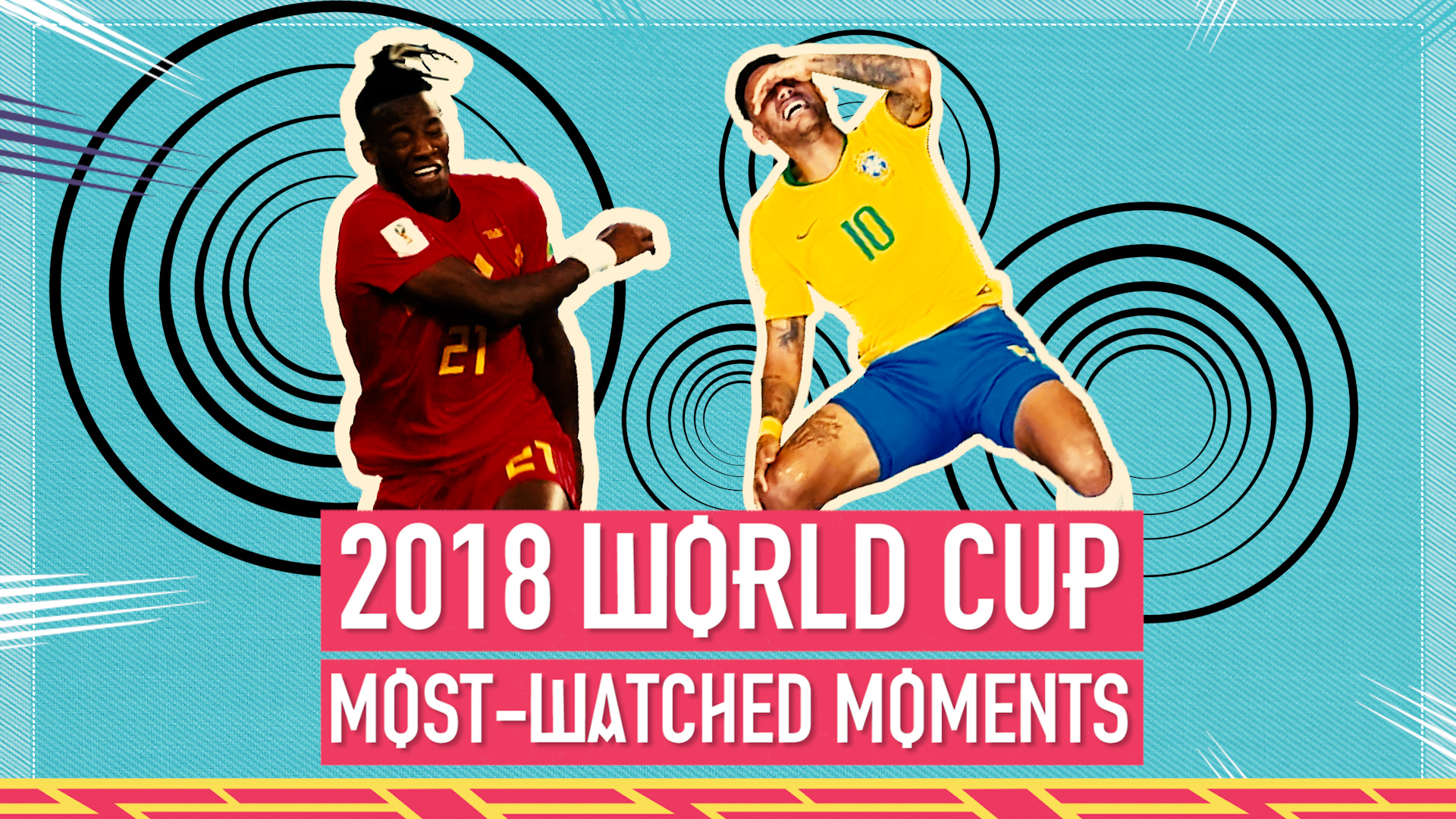World Cup 2018: Neymar, Neuer & Batshuayi - the most watched moments from Russia