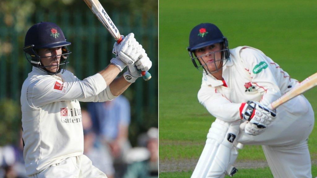Lancashire: All-rounder Josh Bohannon and batsman Rob Jones sign new contracts