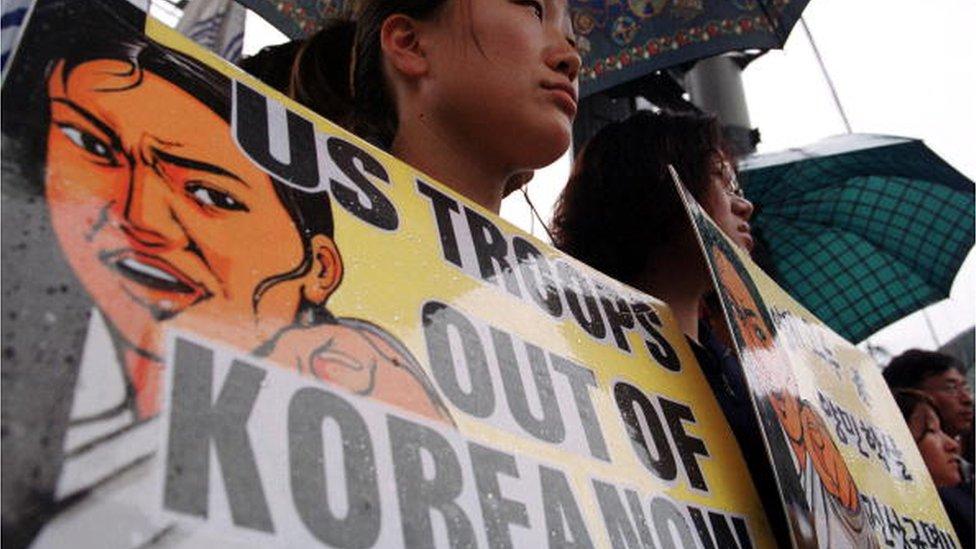 EE.UU. retiró sus armas nucleares de Corea del Sur en 1991.
