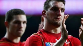 Captain Sam Warburton was red-carded in the 2011 World Cup semi-final against France