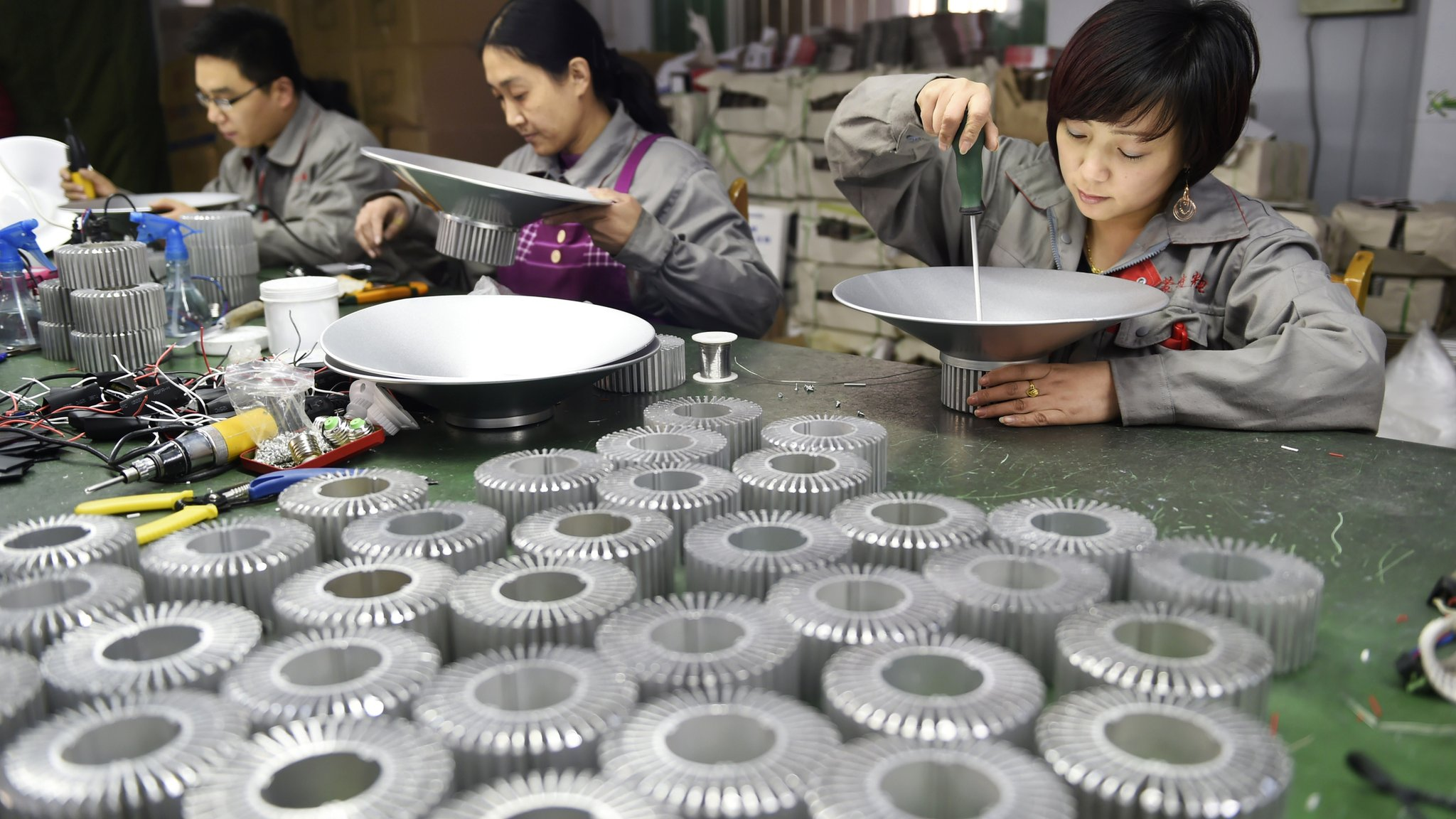 Factory activity in the world's second largest economy, China, shrank the most in two years in July as new orders fell more than expected.