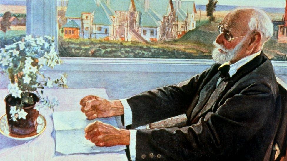 Retrato de Ivan Pavlov