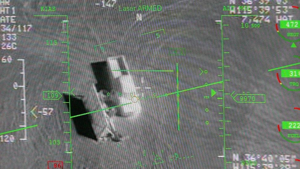 صورة التقطتها طائرة موجهة