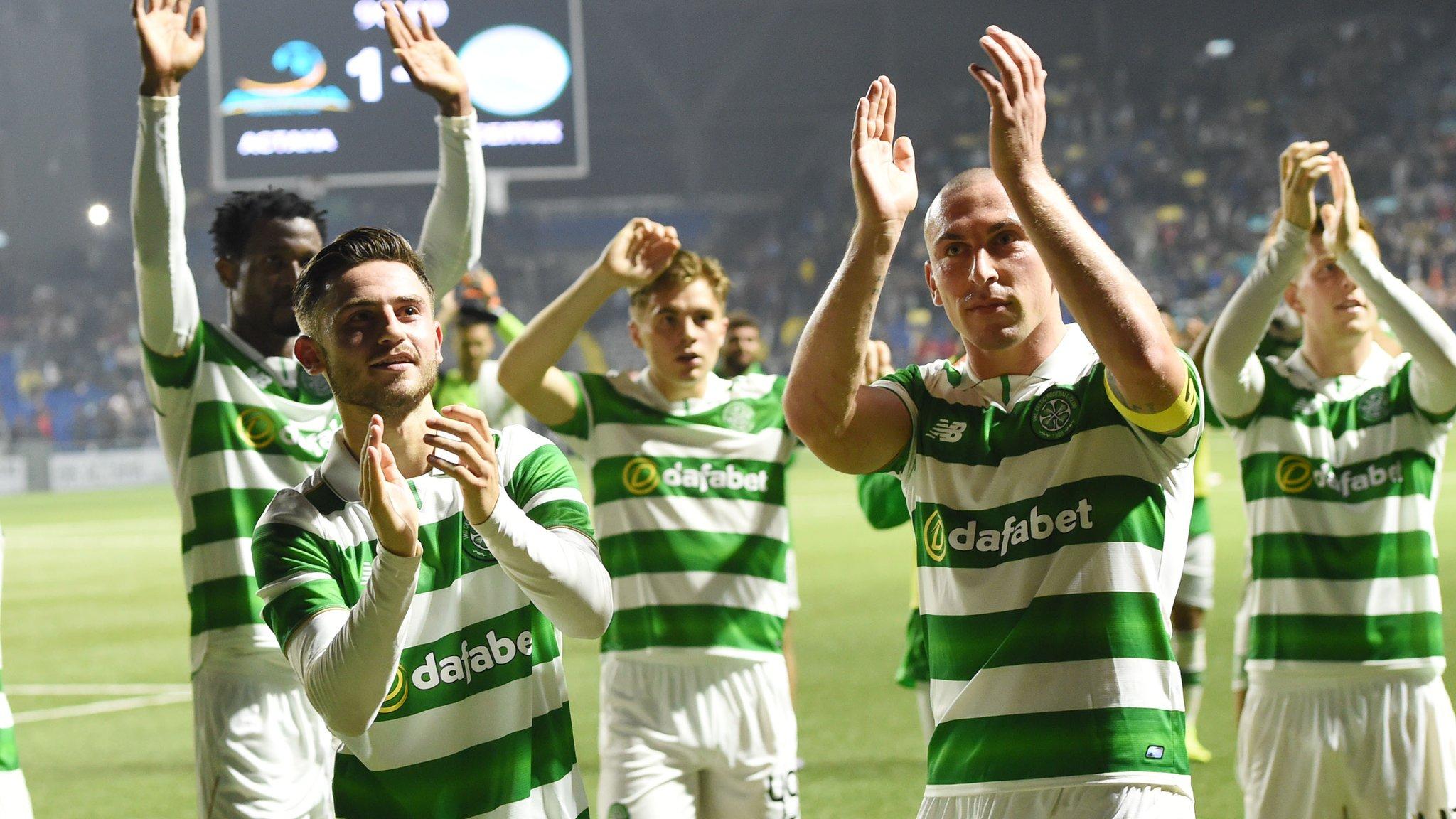 Celtic rescue Champions League draw in Kazakhstan