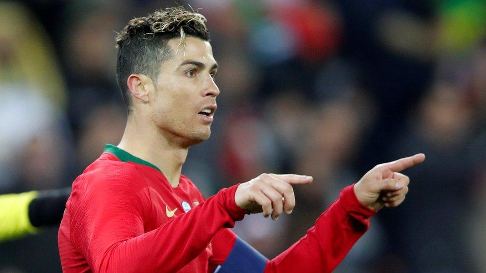 رونالدو يتفوق على محمد صلاح ويقود البرتغال للفوز على مصر بهدفين