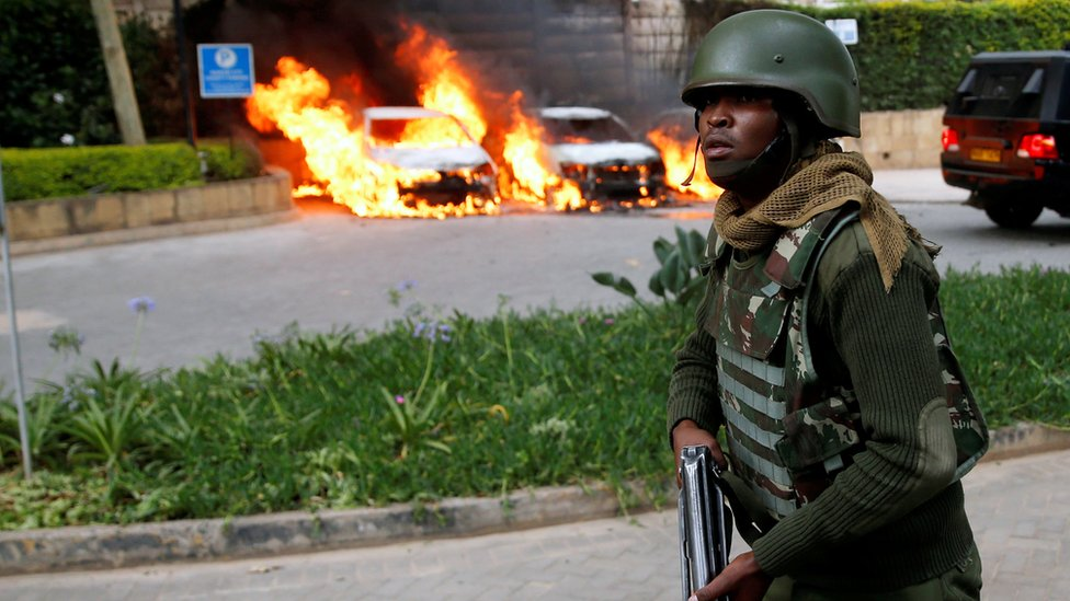 Nairobi hotel: British man killed in attack