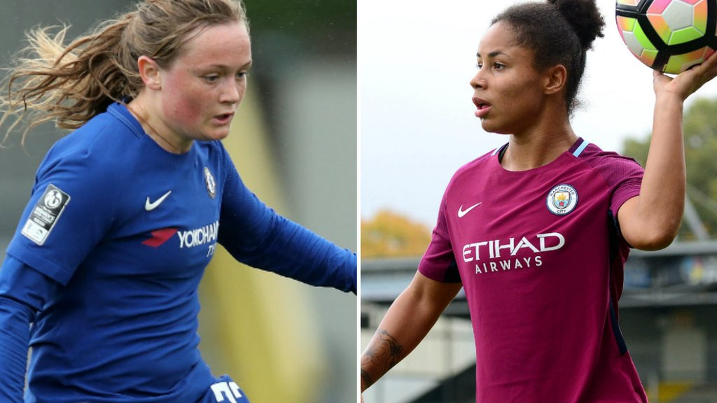 WSL 1 title race 'in Chelsea's hands' as they host leaders Man City