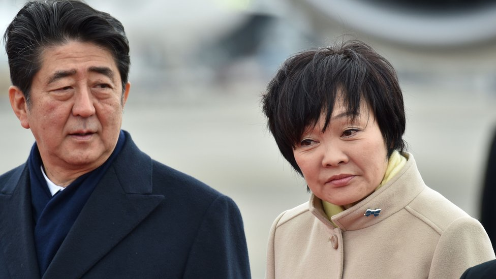 Japan PM Abe denies involvement in school scandal cover-up