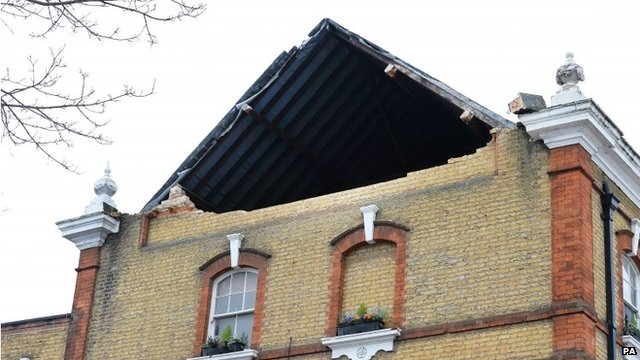 What Katie did: Storm damage across London