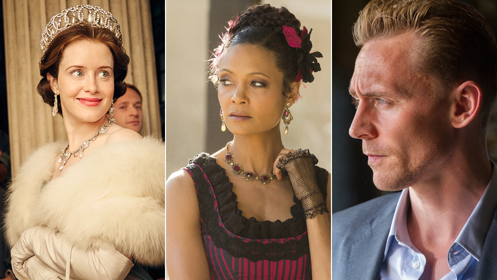 Claire Foy, Thandie Newton, Tom Hiddleston