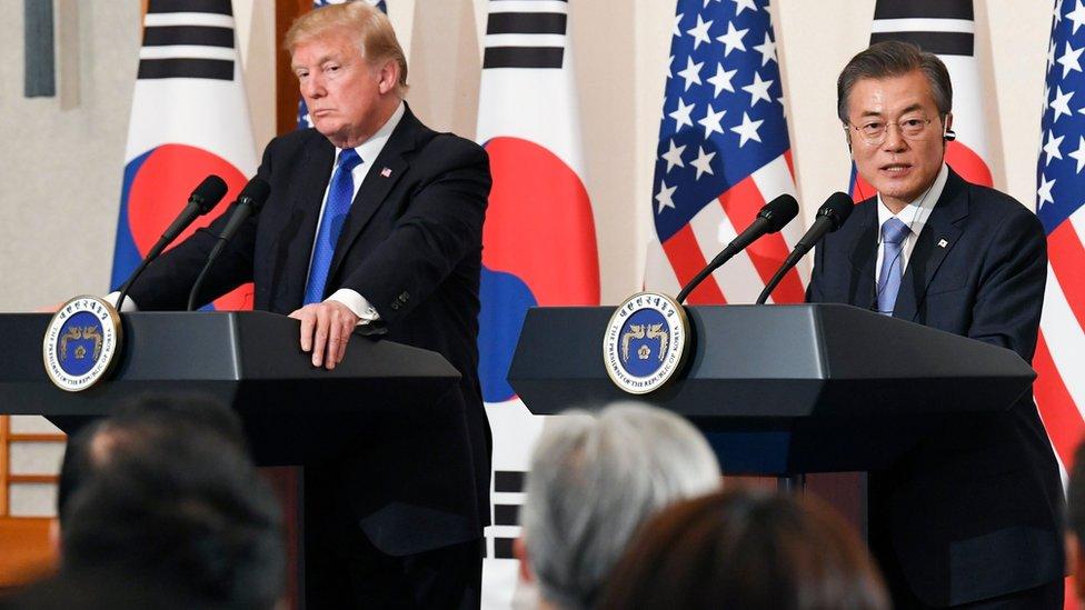 زيارة ترامب لكوريا الجنوبية