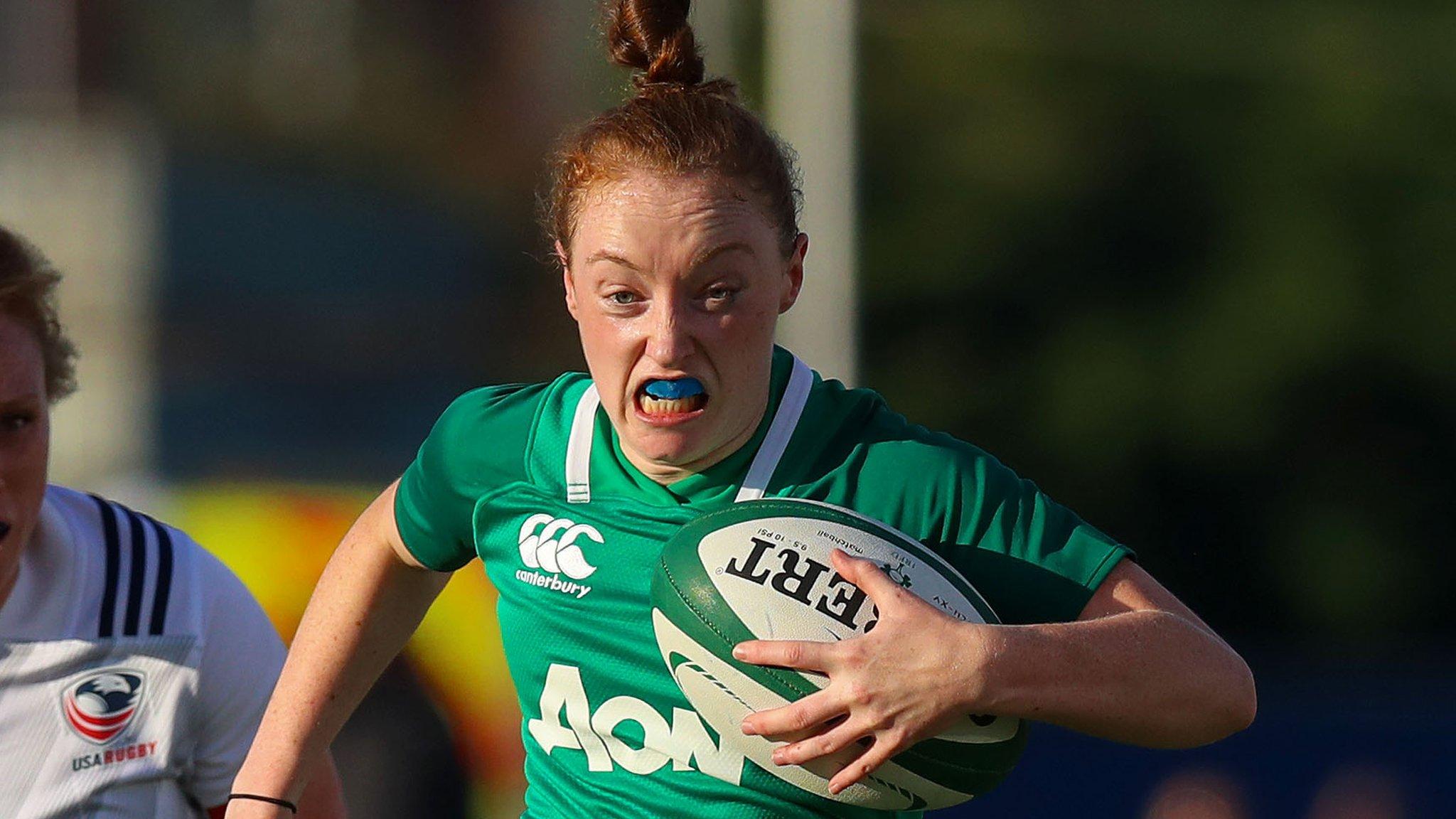 Ireland Women beaten by USA at home