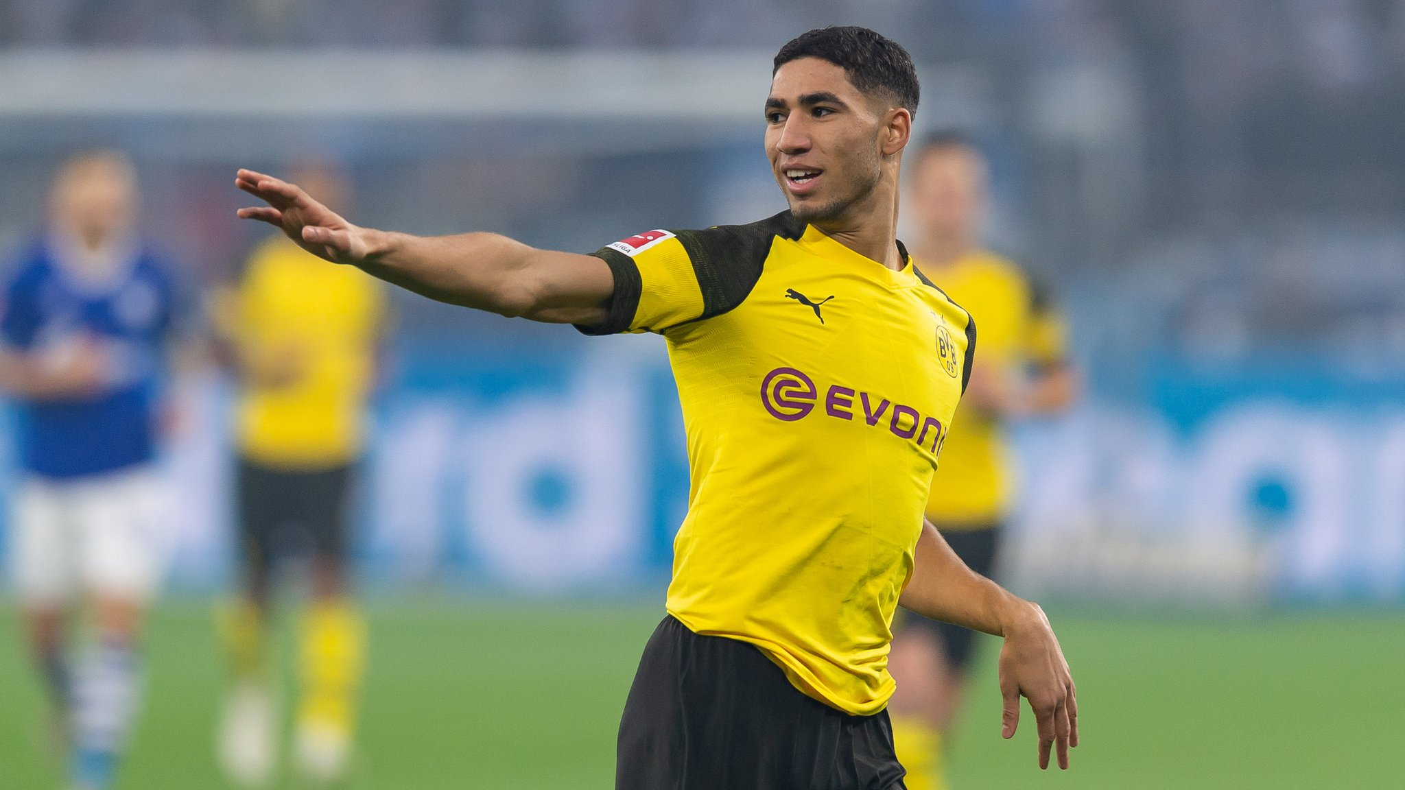Morocco's Achraf Hakimi continues to impress in Germany