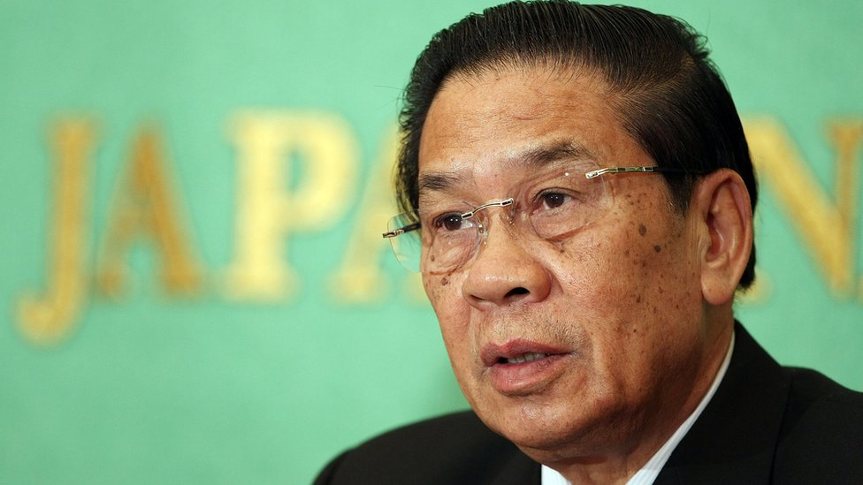 President Choummaly Sayasone of Laos