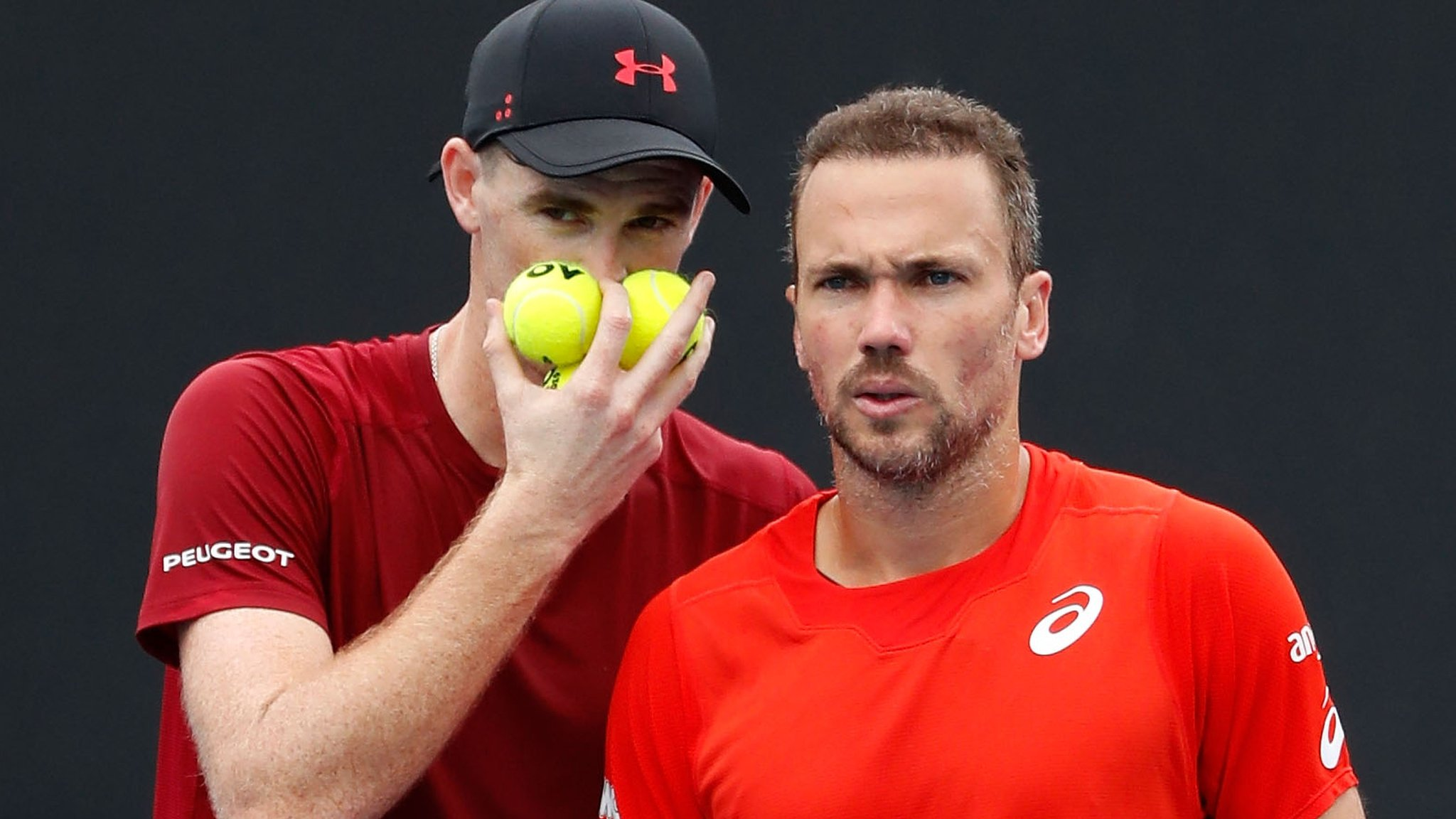 Doubles success not celebrated enough - GB's Murray after reaching third round