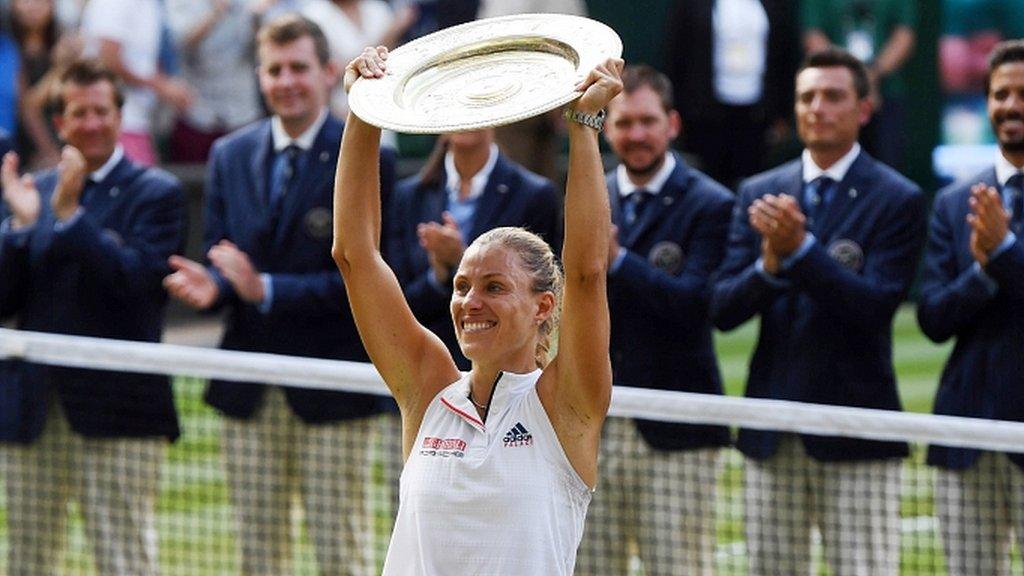 Angelique Kerber beats Serena Williams to win Wimbledon