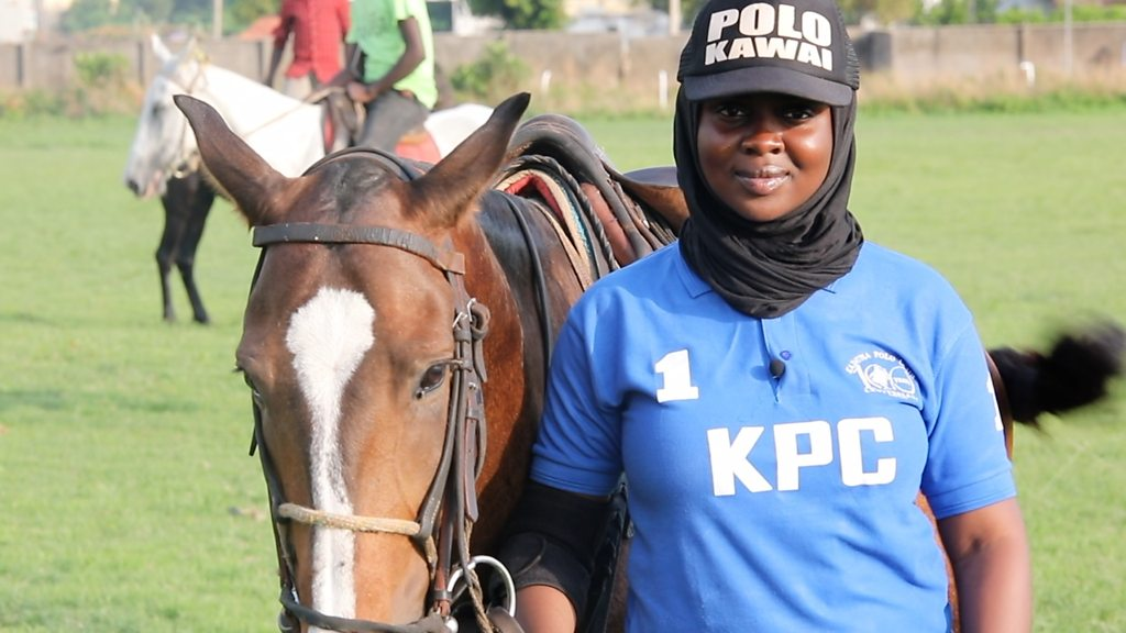 Aisha Ahmad Suleiman: 'People tried to stop me playing polo'