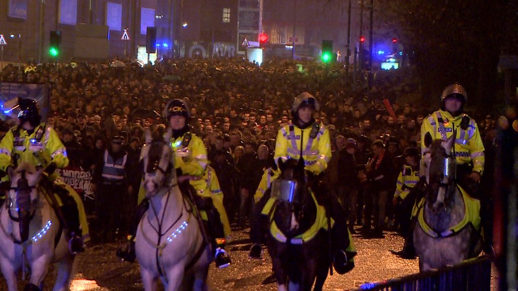 Champions League: The £80,000 operation to police Feyenoord fans