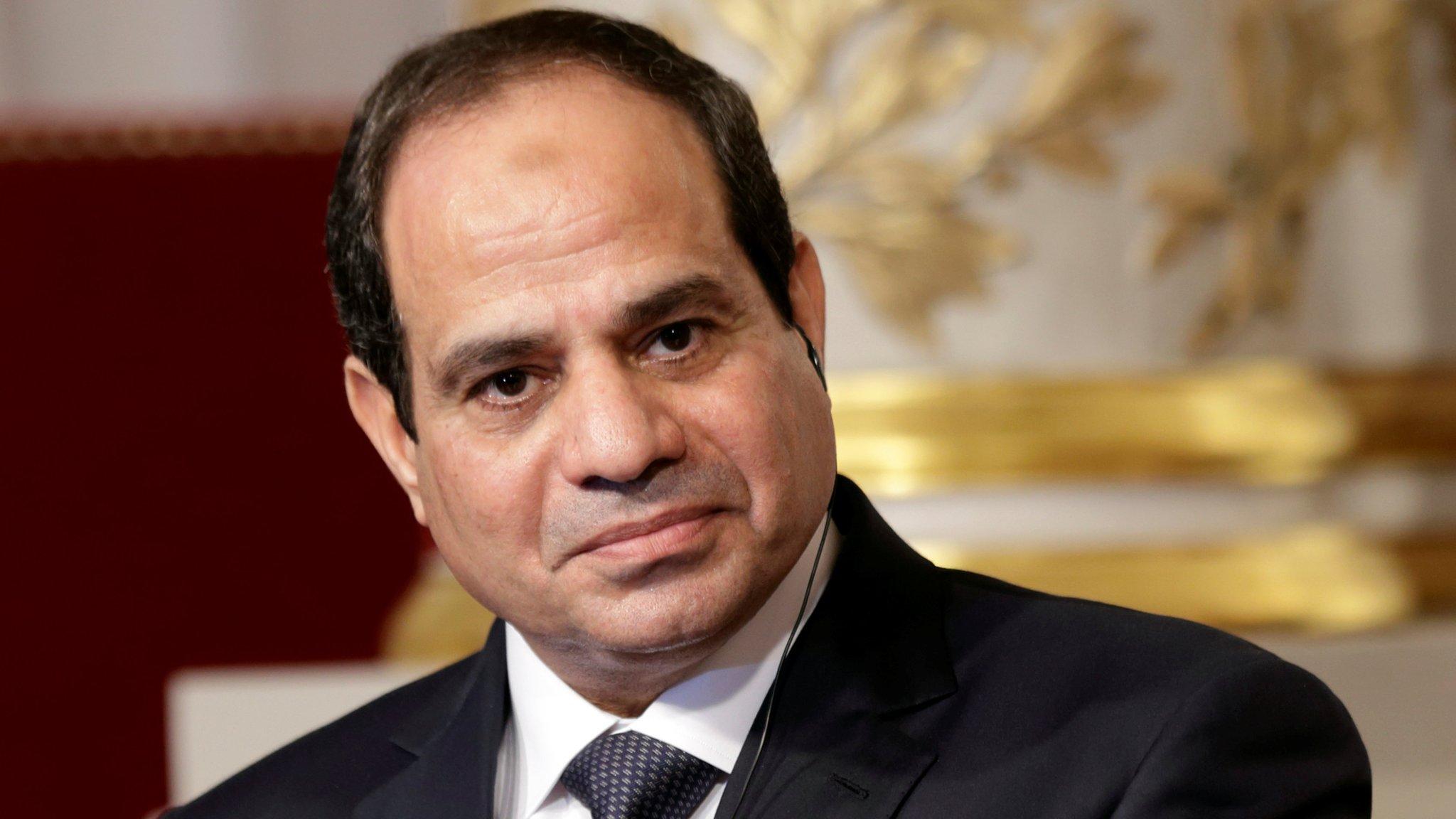 السيسي يحذر من المساس بحصة مصر في مياه النيل